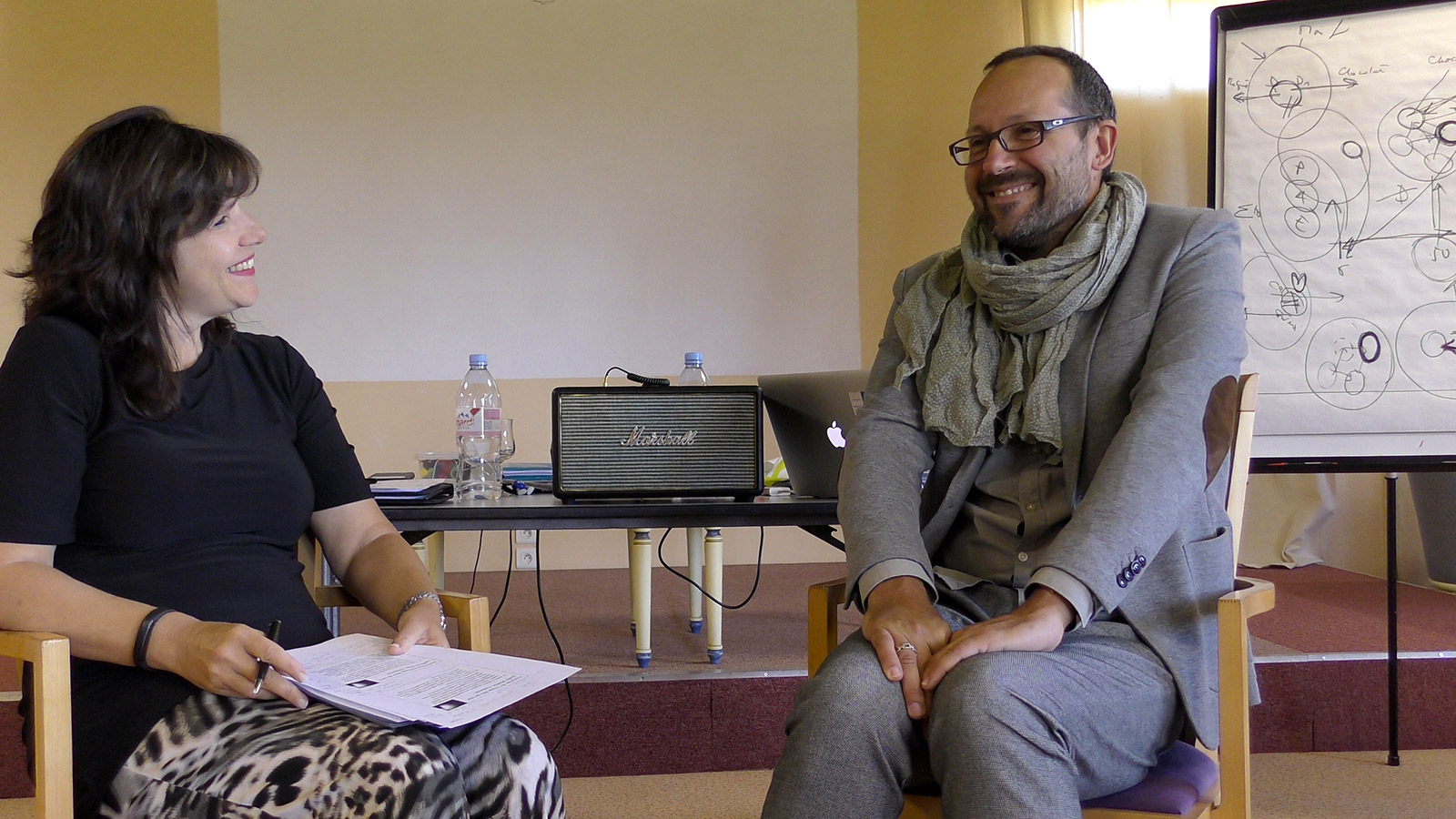 Docteur Sylvia Zanotta et Docteur Guillaume Poupard